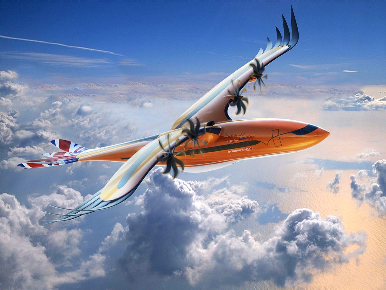 Airbus's latest is a bird of prey-inspired fantasy