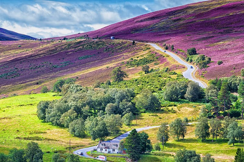 Travel between two national parks in the heart of Scotland on a new touring route
