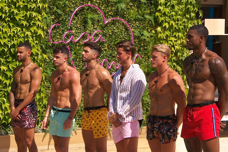 Six new boys arriving to Casa Amor on Love Island.