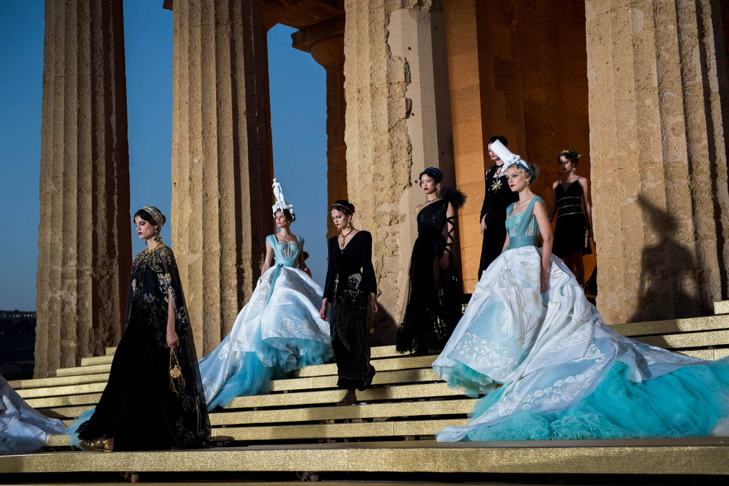 Walk through this ancient temple in Sicily thanks to Dolce & Gabbana