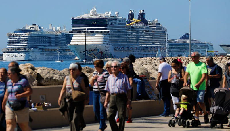 These European cities are calling for limits on cruise ships