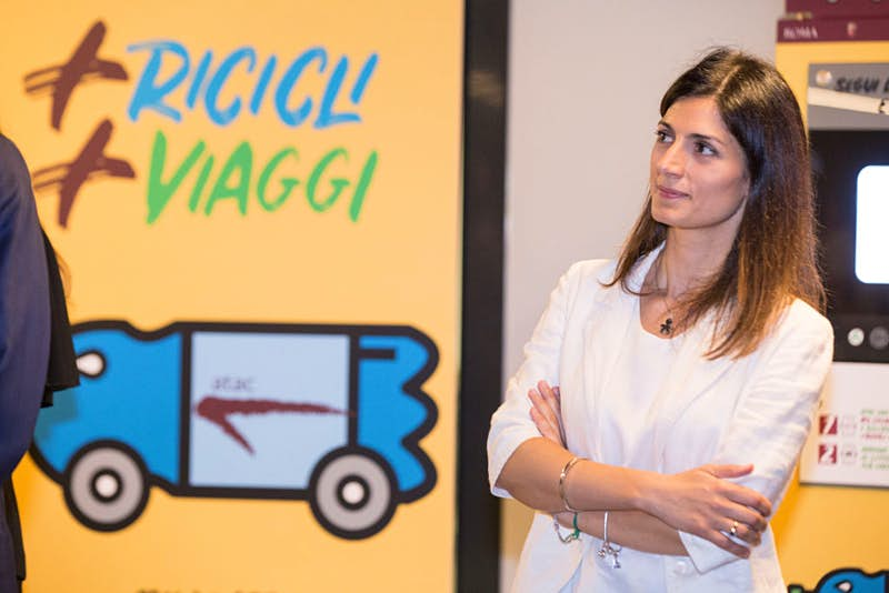 Travel News - Mayor of Rome Virginia Raggi presents the Atac campaign for