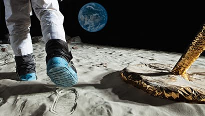 The birthplace of aviation marks the 50th anniversary of the lunar landing