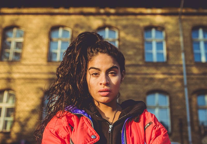 Breakout star Jessie Reyez hits the stage on Sunday.