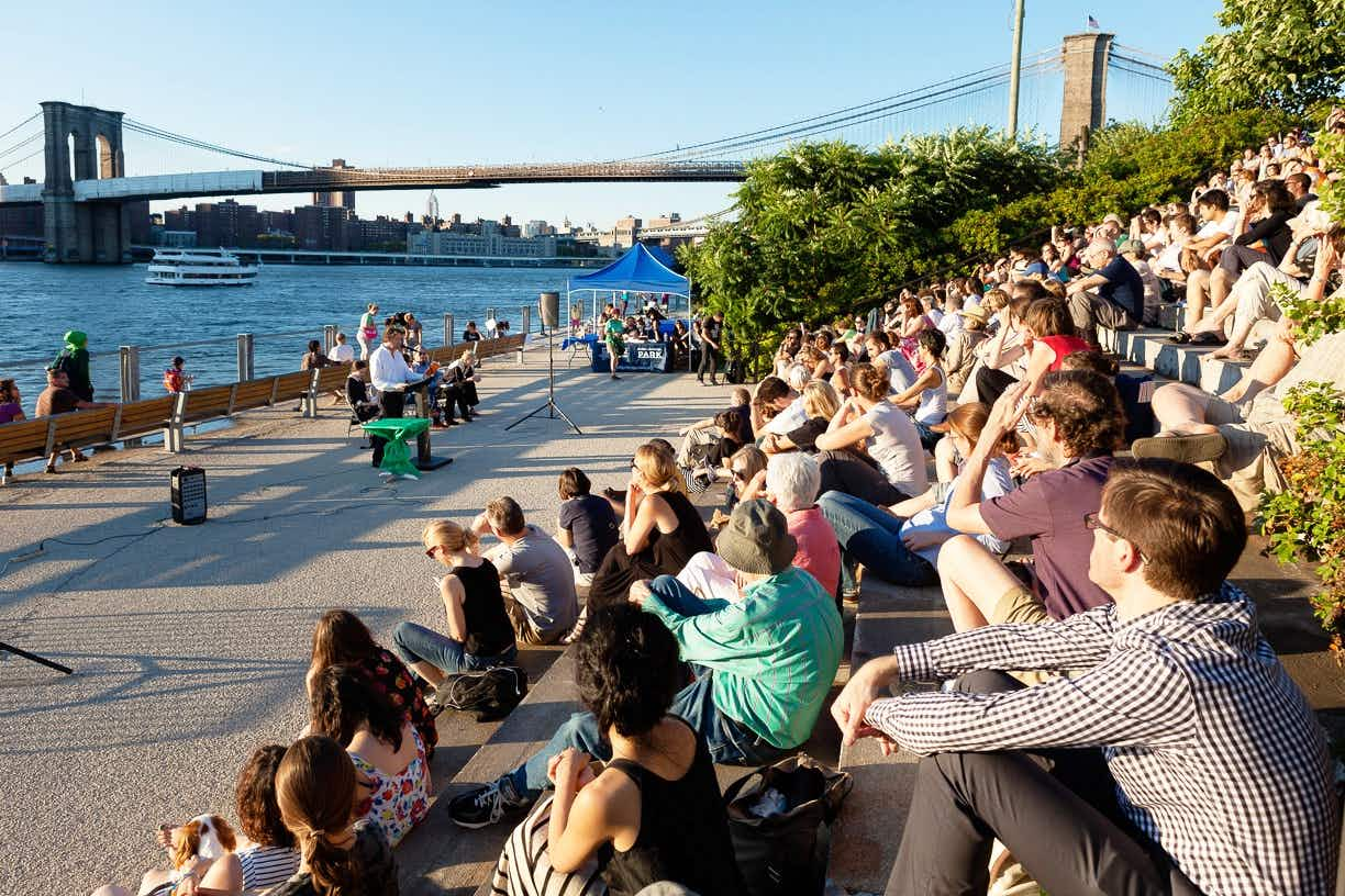 Catch summer's most picturesque literary series in New York City