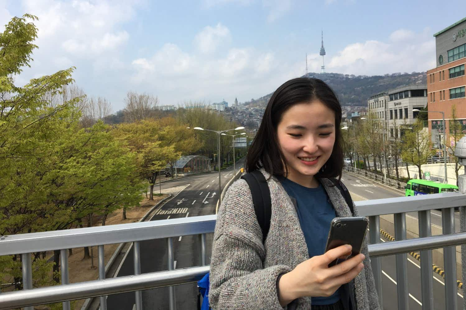 This new app will let you text locals for travel advice in Korea and Japan
