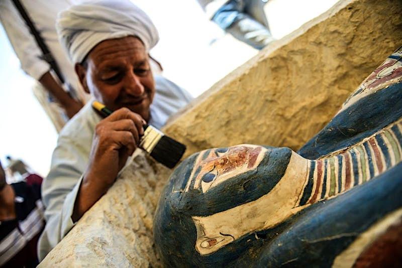 Travel News - TOPSHOT-EGYPT-HISTORY-ANTIQUITIES