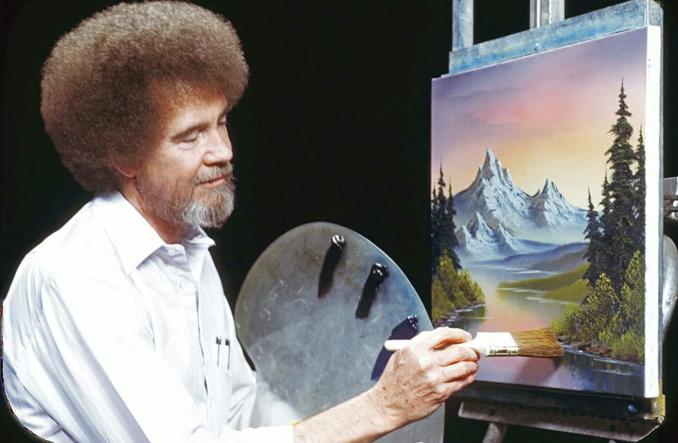 You can book Bob Ross painting sessions through the new Airbnb Experiences