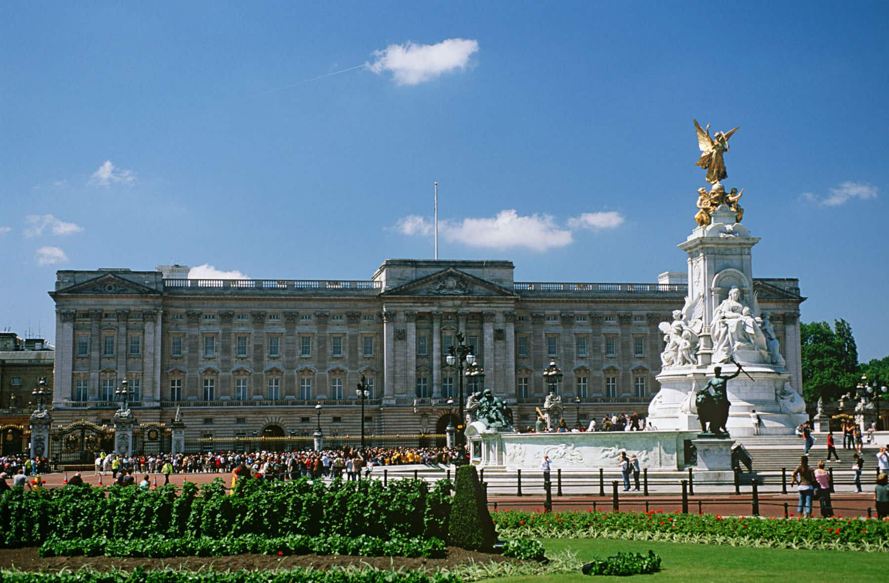 Buckingham Palace reopens to visitors now that the Queen is away for the summer