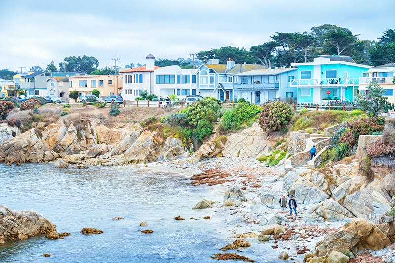 2. Pacific Grove, California.  Leafy streets are lined by stately Victorian homes and a charming, compact downtown orbits Lighthouse Ave.  Visitors in October should head to the Monarch Grove Butterfly Sanctuary to see the thousands of monarch butterflies that descend on the town annually, earning Pacific Grove the nickname Butterfly Town USA. Image: Getty