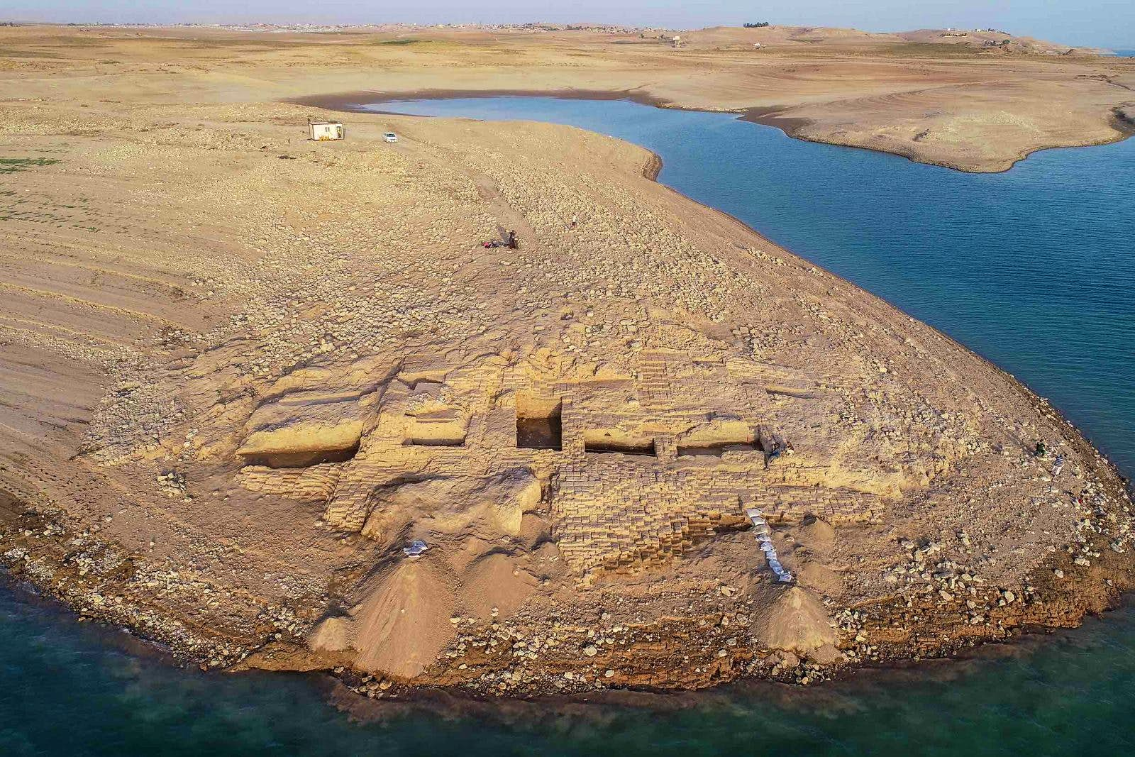 Mysterious 3400-year-old palace emerges from the Tigris River during drought - Lonely Planet
