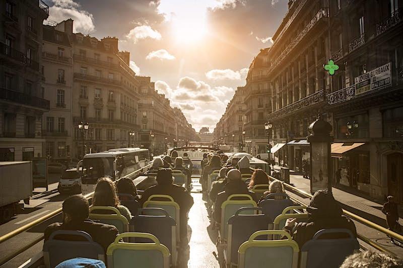 Travel News - Double-decker bus tour in Paris, Ile-de-France, France