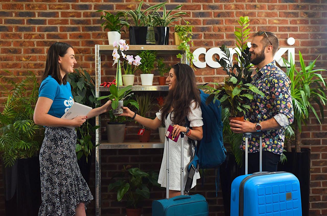 Travel News - Contiki plant service