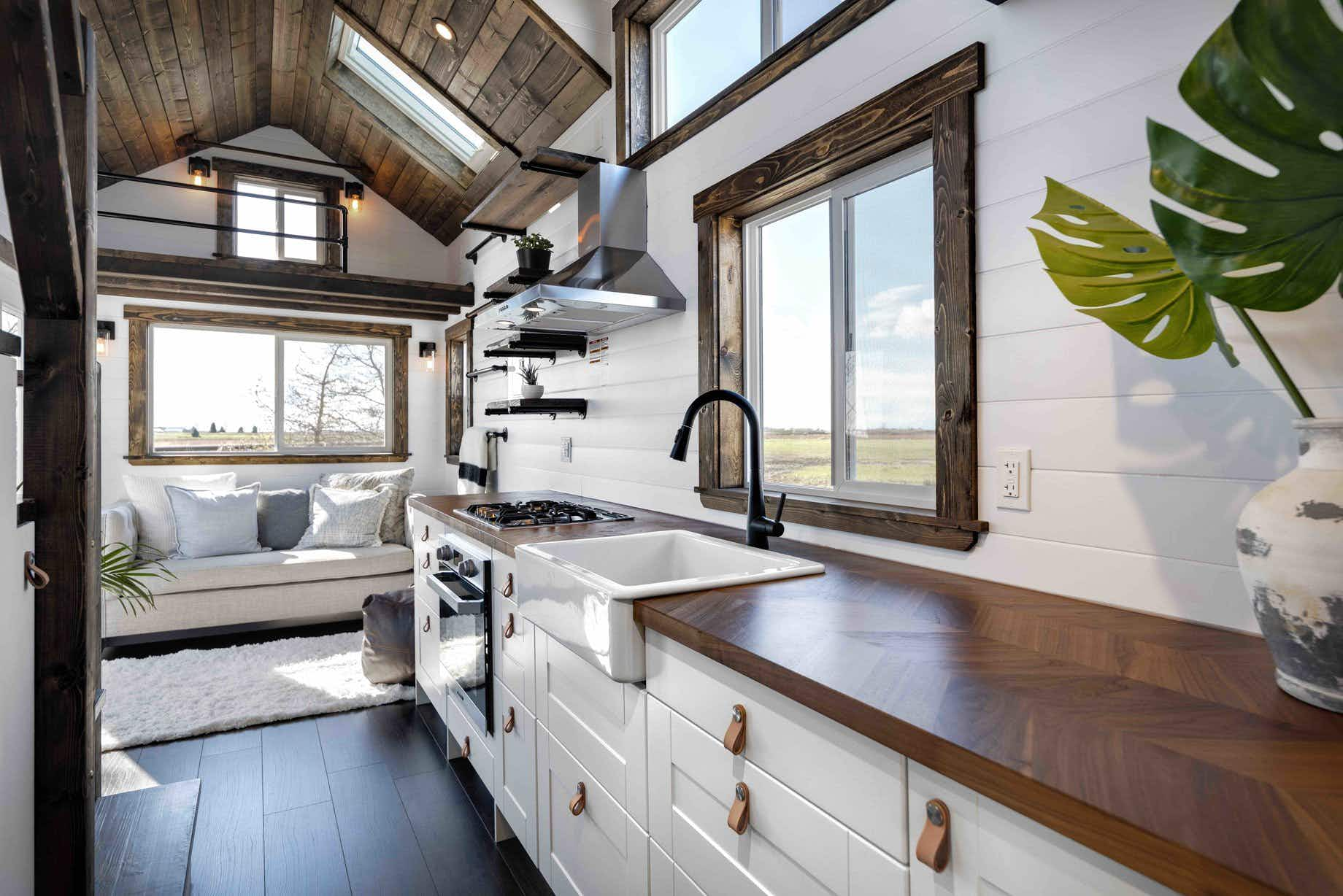 Inside the stylish tiny house that can travel the country with you