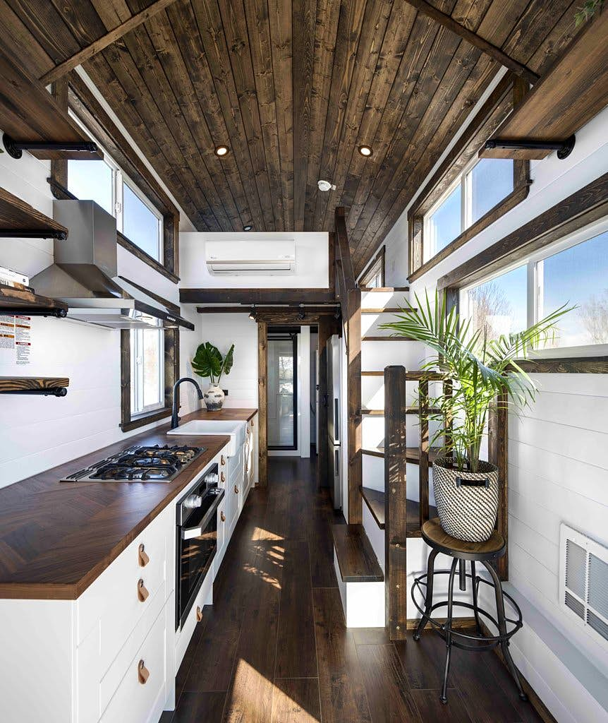 The Country House Company inside the stylish tiny house that can travel the country
