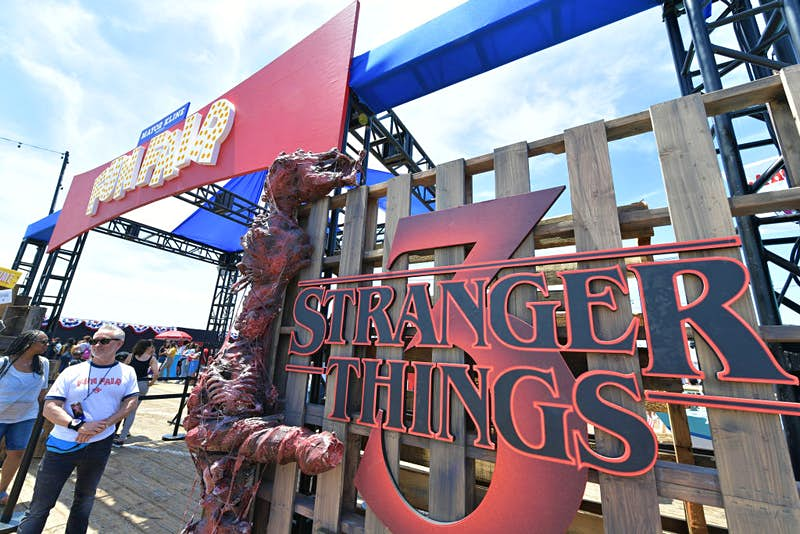 The new Stranger Things seasons will premiere this week. Photo by Amy Sussman/Getty Images