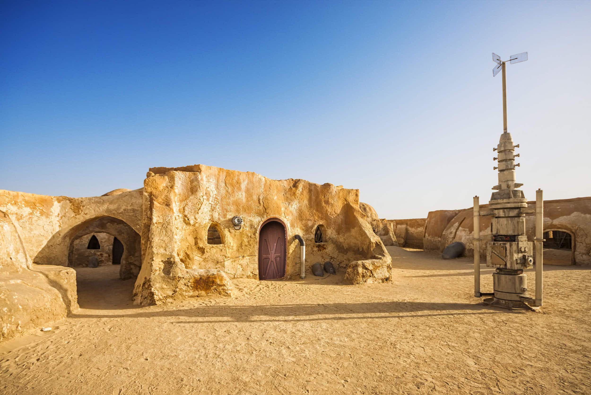 Dance all night at a music festival on a former Star Wars set in the Tunisian desert