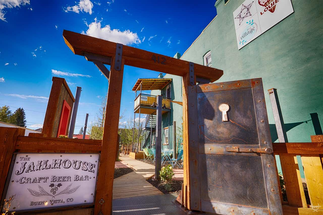 This old Wild West jailhouse is now a craft beer bar