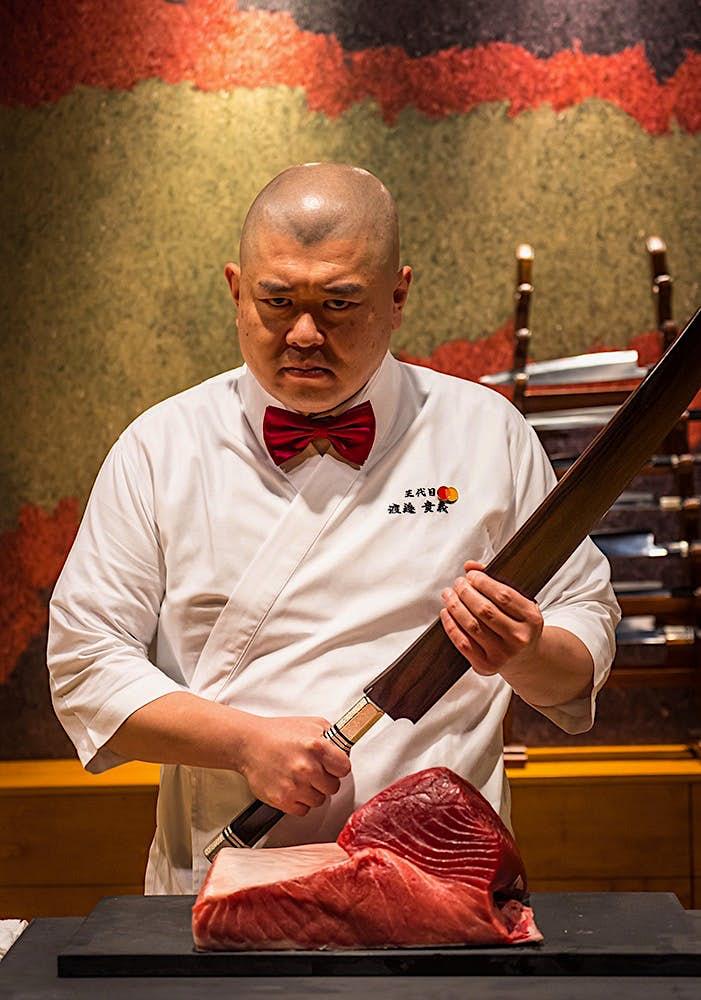 Chef Takayoshi Watanabe San