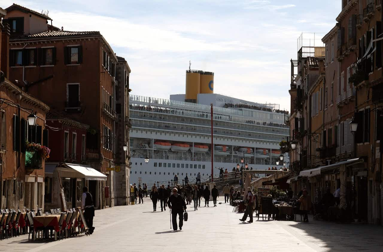 Venice might finally ban giant cruise ships from the historic city centre