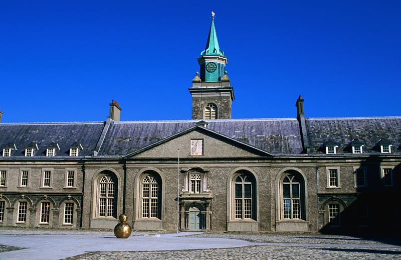 The exterior of the Irish Museum of Modern Art