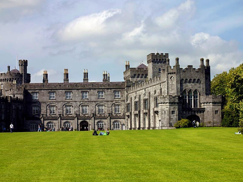 The castle and parklands at Kilkenny Castle