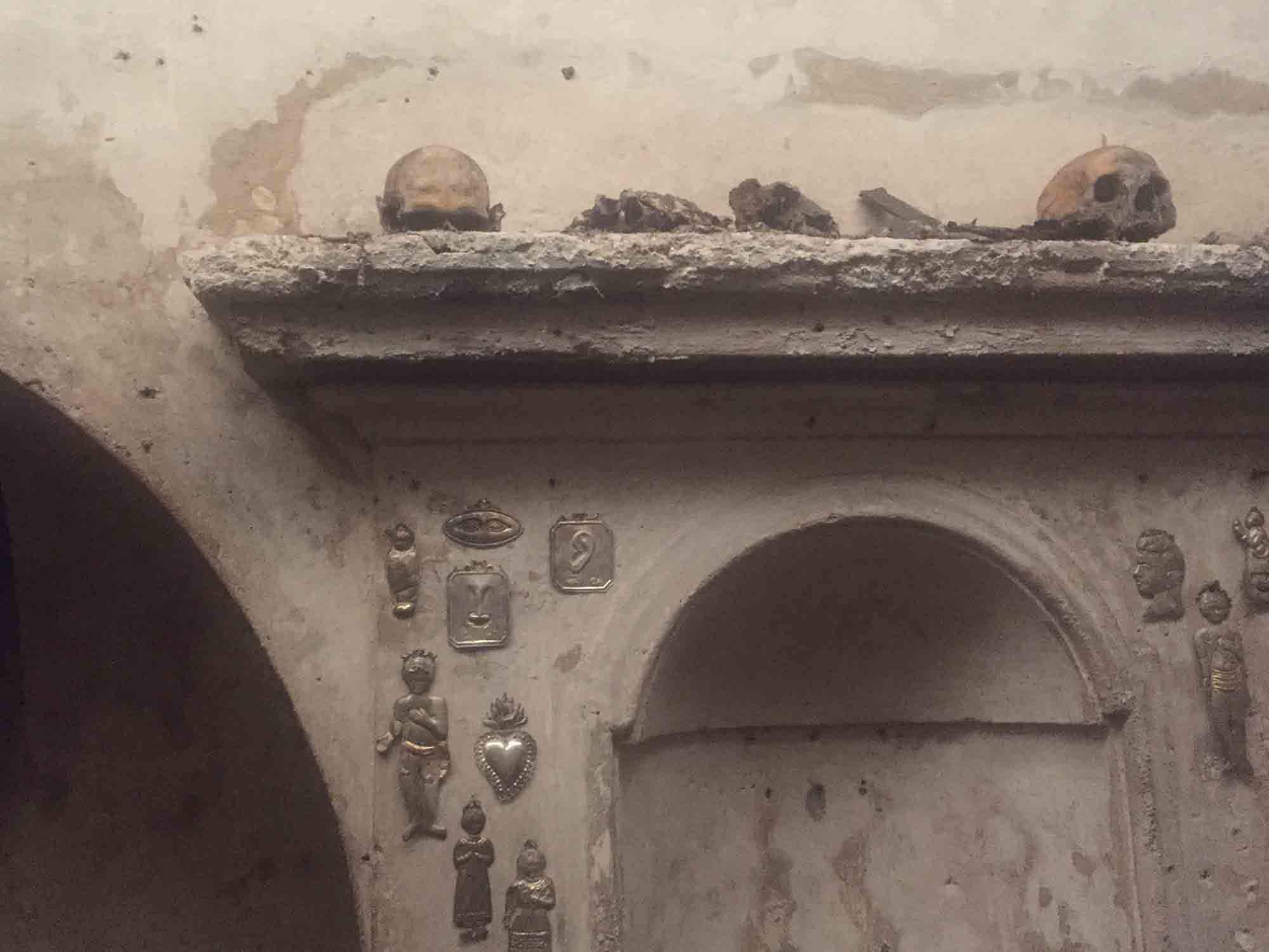 The world's only mummified skull with ears has been rediscovered in a tiny Naples church