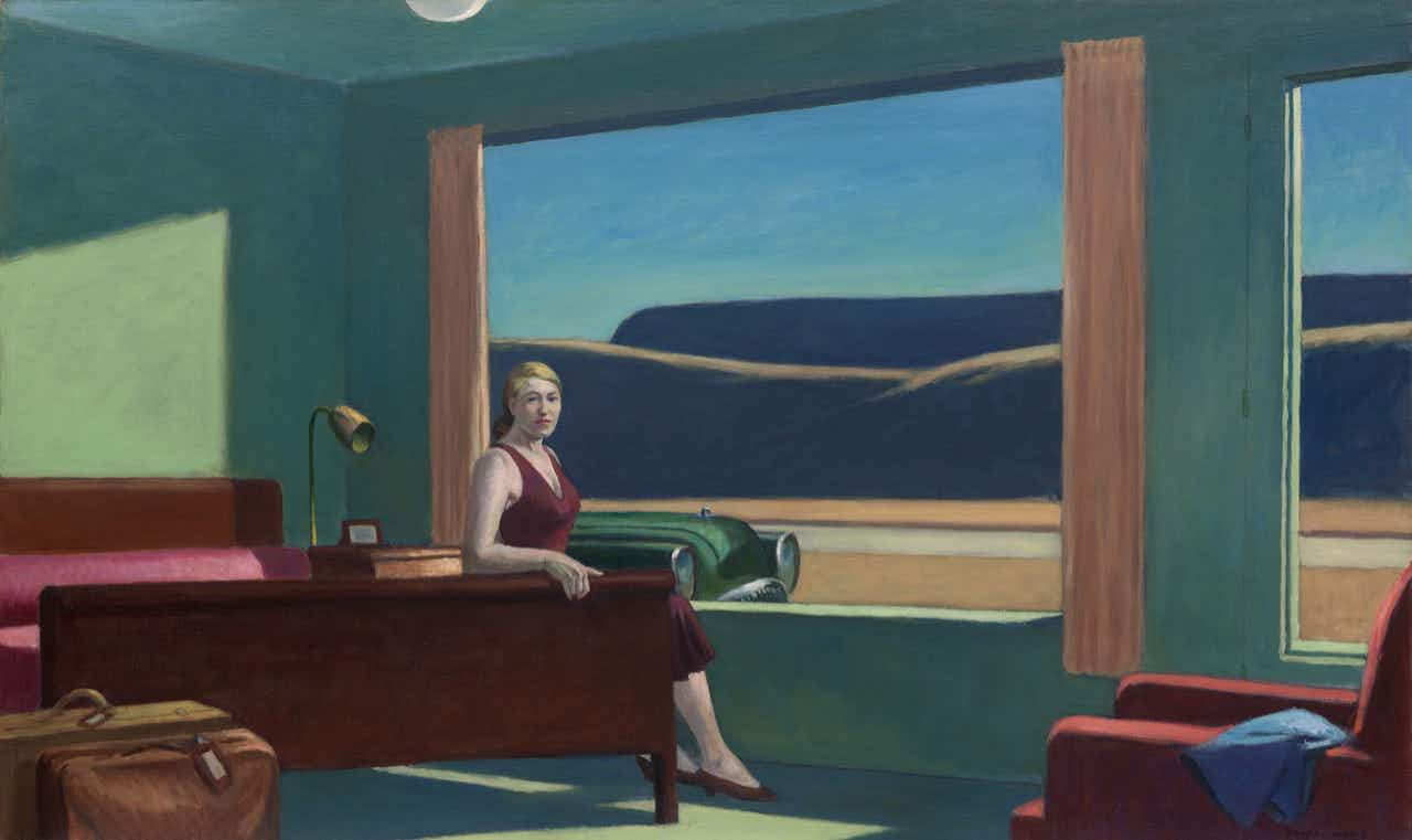 Spend a night in an Edward Hopper painting