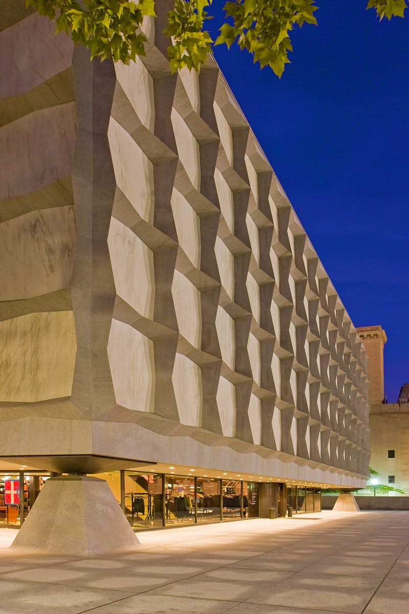 Beinecke Rare Book & Manuscript Library contains a treasure trove of documents.