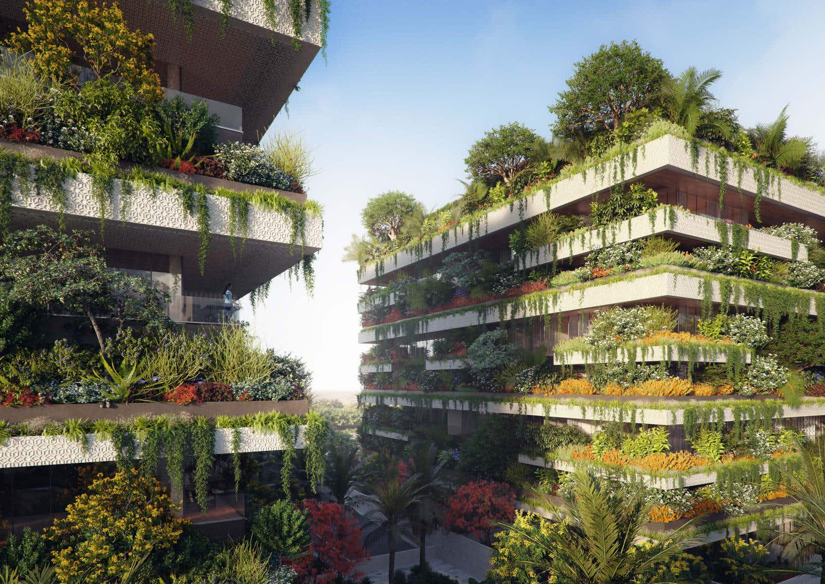 Egypt will soon be getting its first vertical forest, the very first one in Africa