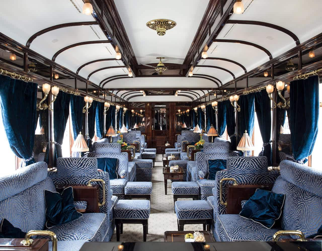 Take a plunge back in time to the 1920s in the new Orient Express suites