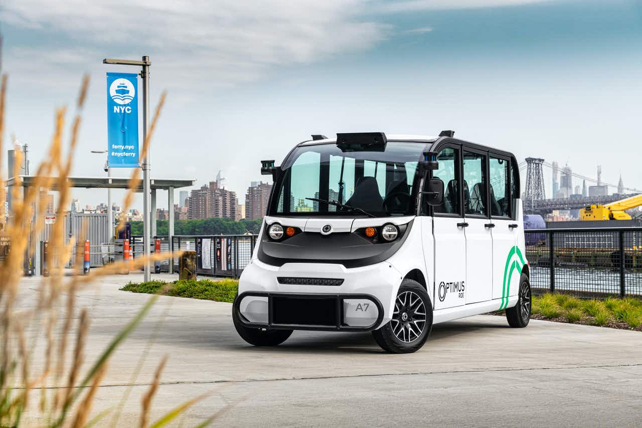 New York's first self-driving shuttle service has launched
